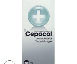 Cepacol Antibacterial Throat Gargle - 200ml
