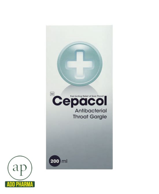 Cepacol Antibacterial Throat Gargle - 200ml