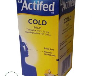 Actifed Cold Syrup - 100ml