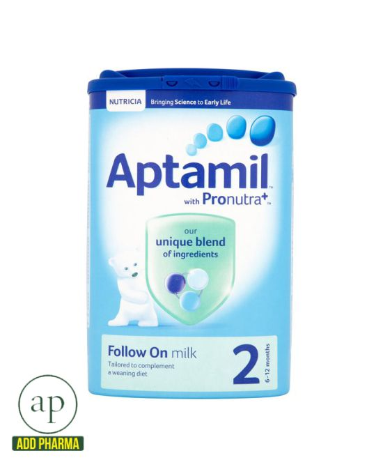 Aptamil 2 Follow On Milk Powder 6+ Mths - 900g
