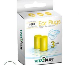 VitaPlus Ear Plugs Foam (Barrel) - 3 Pairs