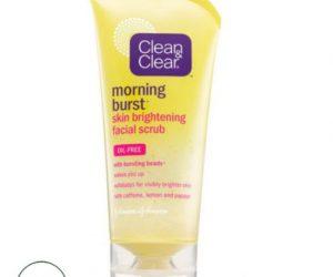Clean & Clear Morning Burst Skin Brightening Facial Scrub - 5 oz