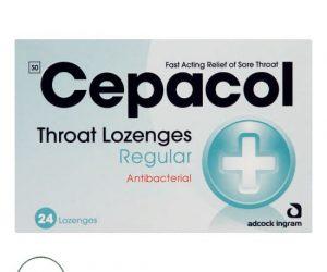 Cepacol Regular - 24 Throat Lozenges