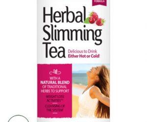 21ST Century® Herbal Slimming Tea CranRaspberry - 24 tea bags