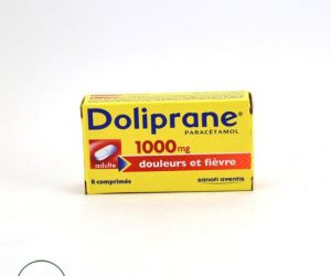 Doliprane Paracetamol 1,000 mg - 8 Tablets