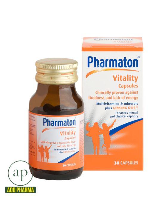 Pharmaton Vitality - 30 Capsules