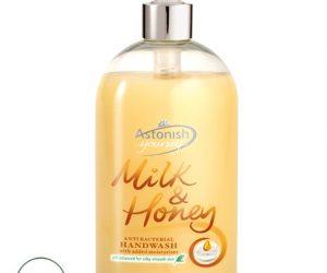 Astonish Anti Bacterial Milk & Honey Hand Wash - 500ml