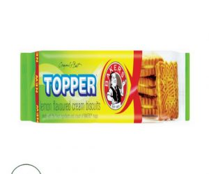 Bakers Topper Lemon Biscuit - 125G