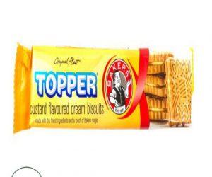 Bakers Topper Custard Biscuit - 125G