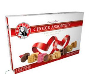 Bakers Choice Assorted Biscuits - 1kg
