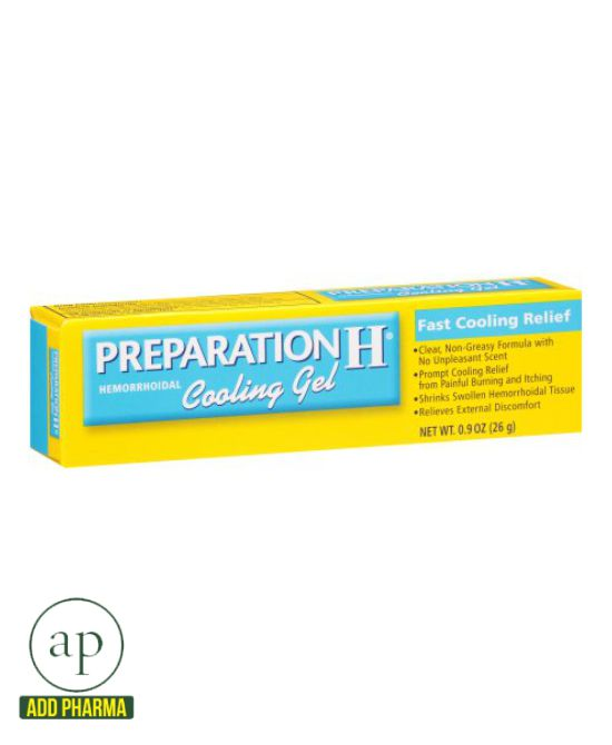 Preparation H Hemorrhoidal Cooling Gel - 26g