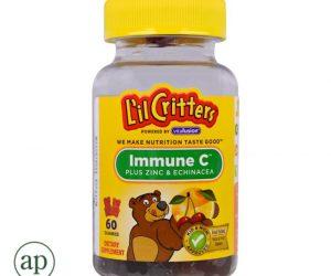 L'il Critters™ Immune C Plus Zinc & Echinacea - 60 Gummies