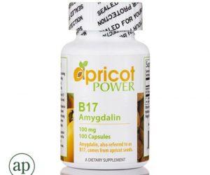 Apricot Power B17 (Amygdalin) 100 mg - 100 Capsules
