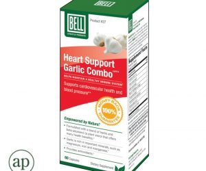 Bell Heart Support Garlic Combo - 60 Capsules