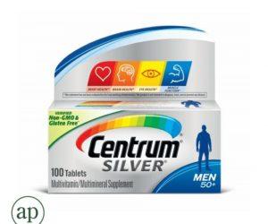 Centrum Silver Men Age 50+ - 100 Tablets