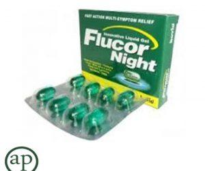 Flucor Night - 8 Capsules
