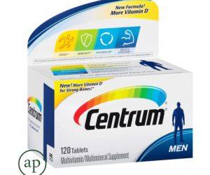 Centrum Men Multivitamin Tablets - 120 Tablets